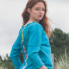 T-Shirt Louise - Turquoise -dos