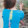T-Shirt Louise - Turquoise